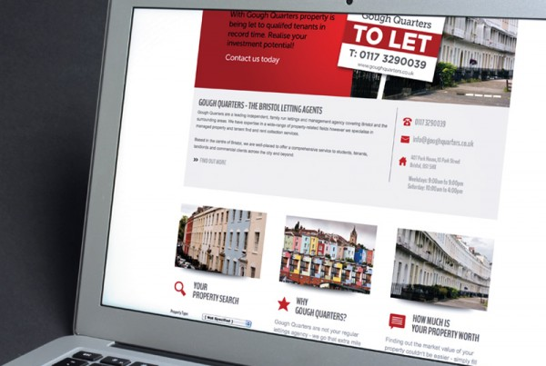 letting agent web design