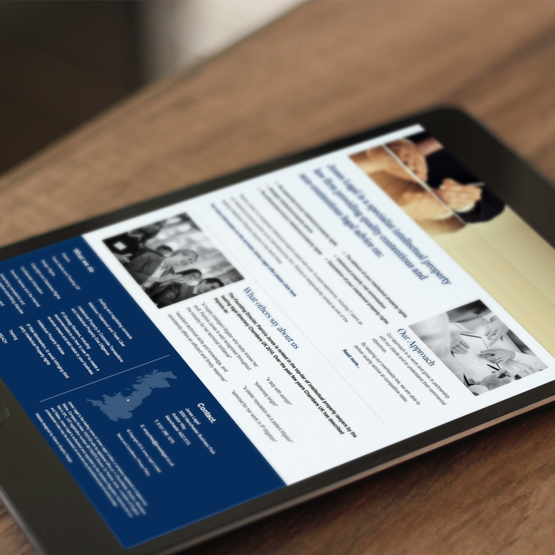 manchester law firm web design
