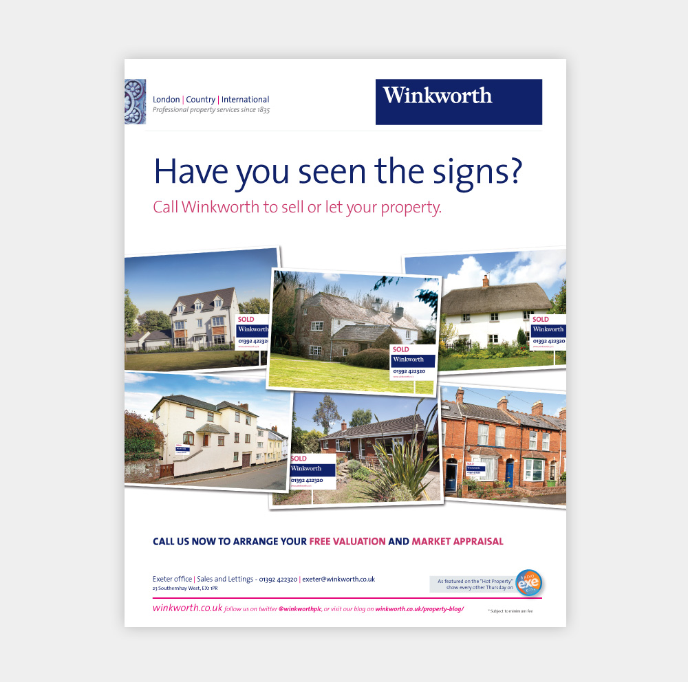 Property Advert And Poster Design For Estate Agents
