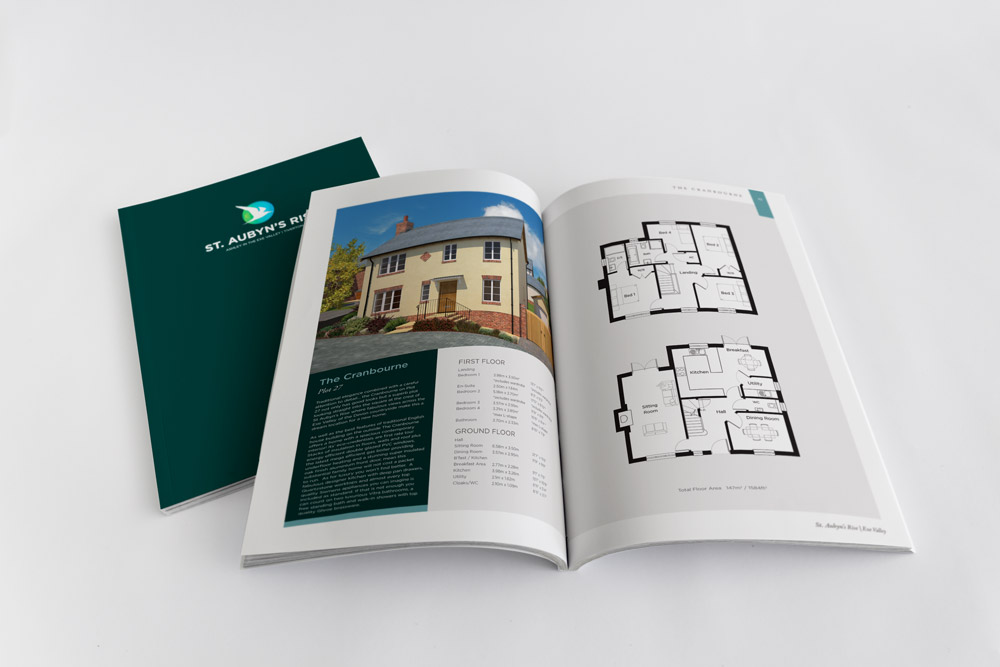 Heritage Homes Property Brochure Design | St Aubyn's Rise, Tiverton