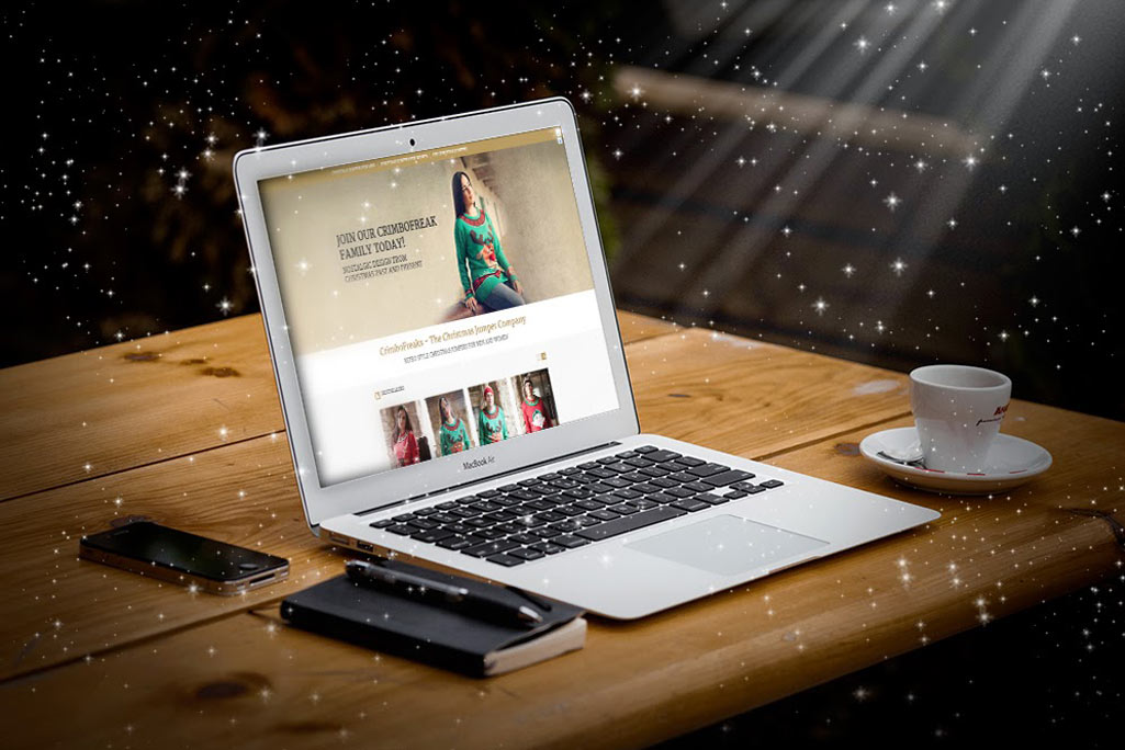 christmas jumpers commerce website