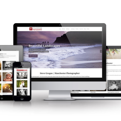 Photographer Website Design