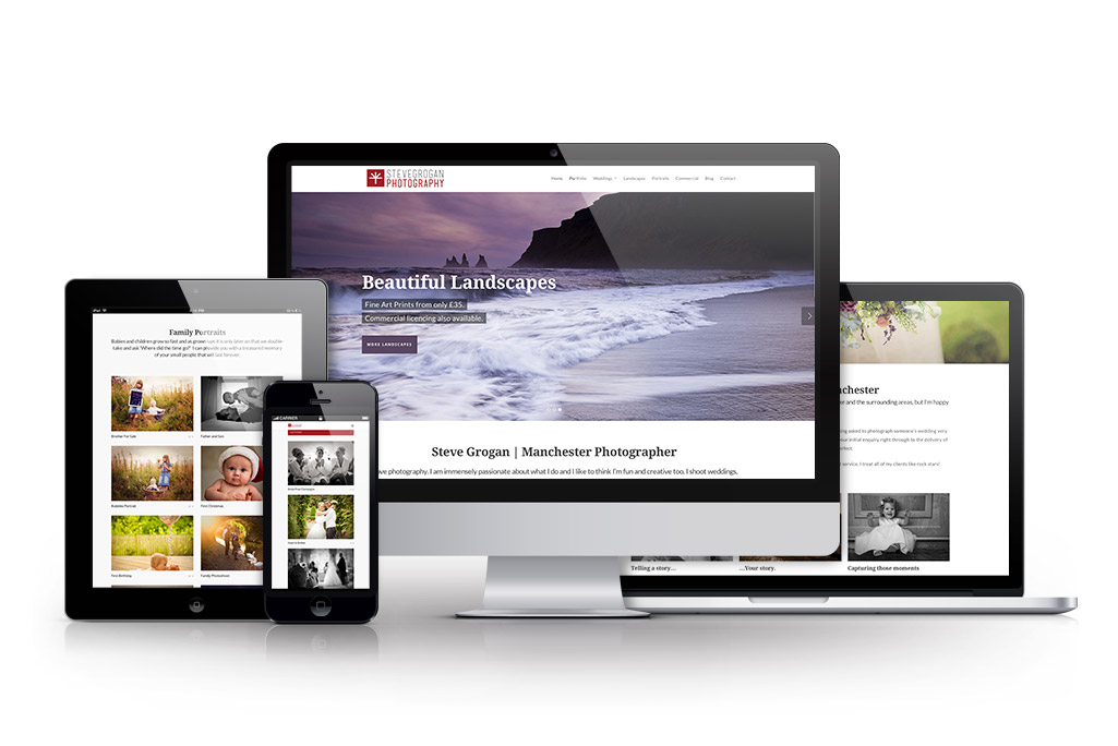 Photographer Business Website Design