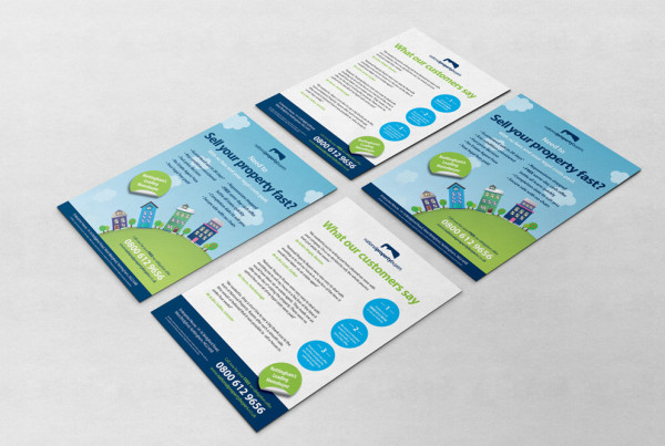 property leaflet design