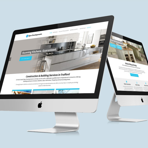 local builder web design