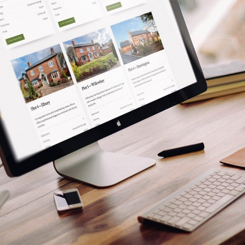 new homes website design wordpress