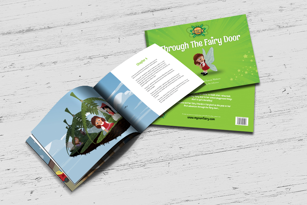 Childrens Book Format Brochure Design