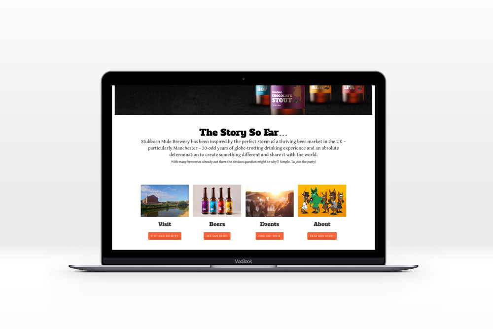 Craft Ale Web Design