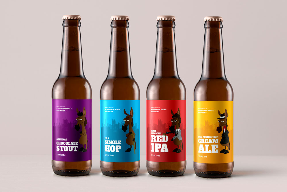Real Ale Label Design