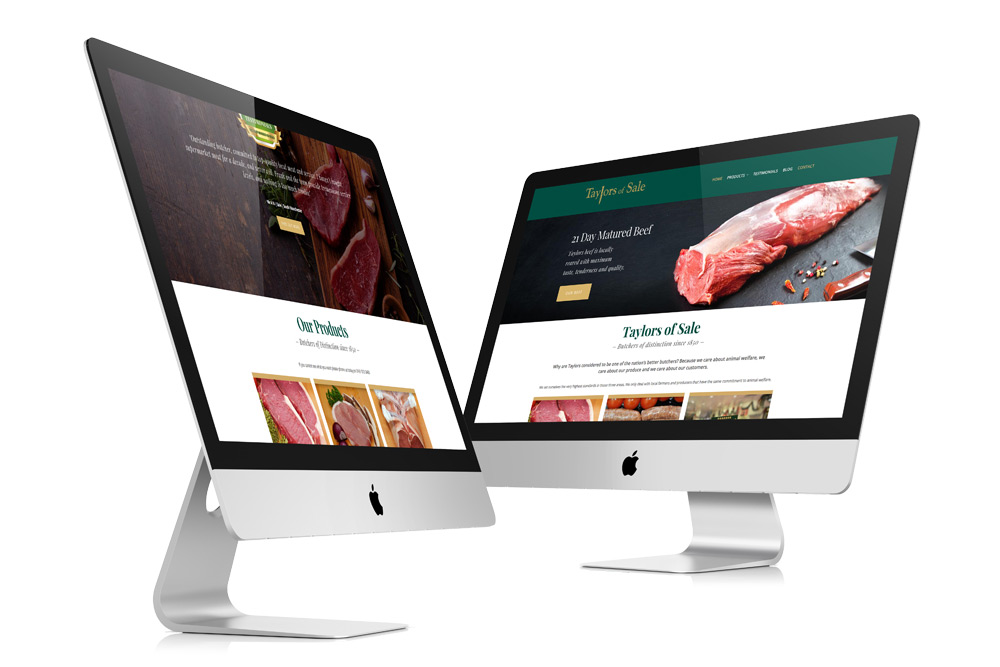 taylors-of-sale-butcher-web-design