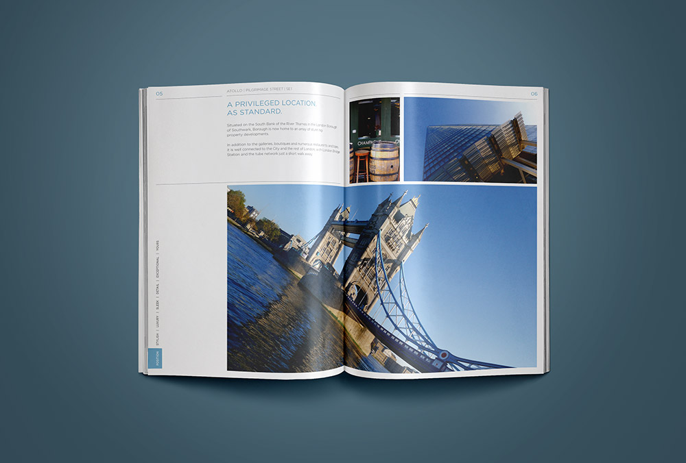 property construction brochure design