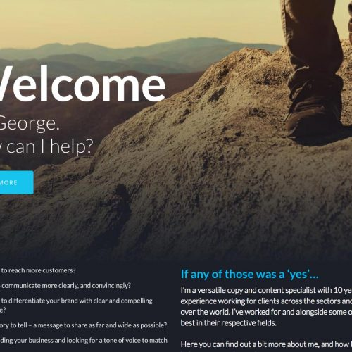 Copywriting Website Detail