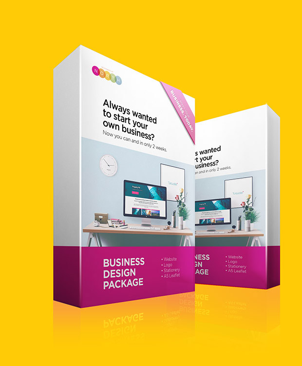 business design start up package
