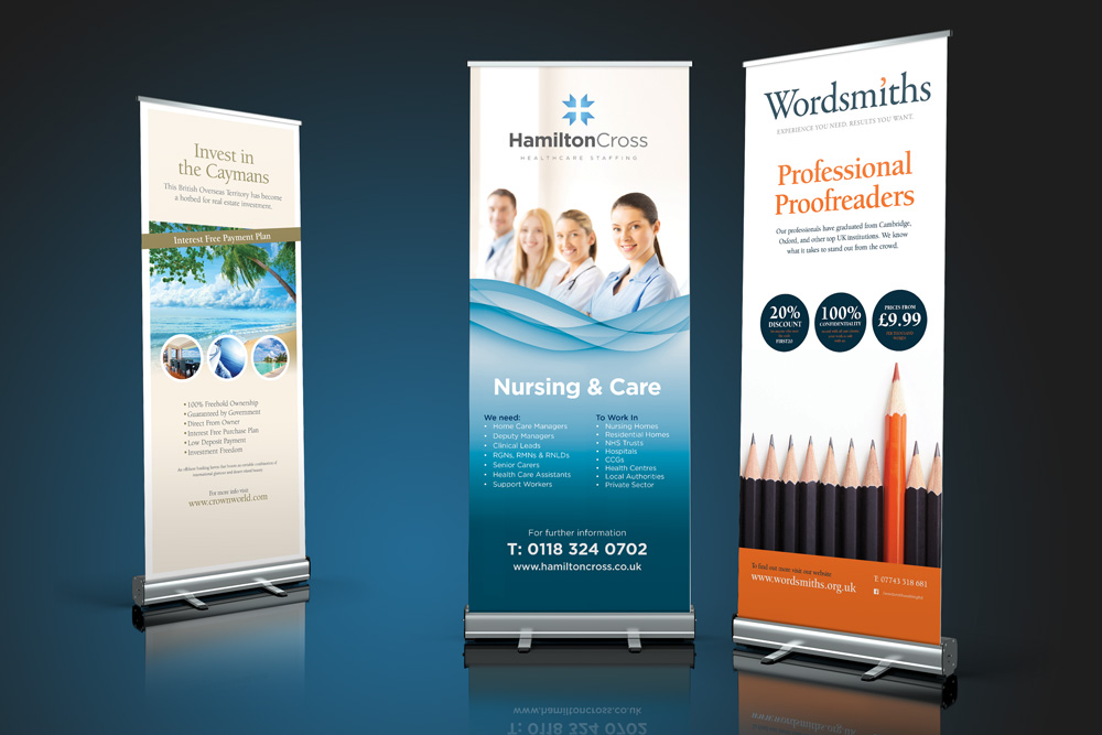 roller banner design ideas