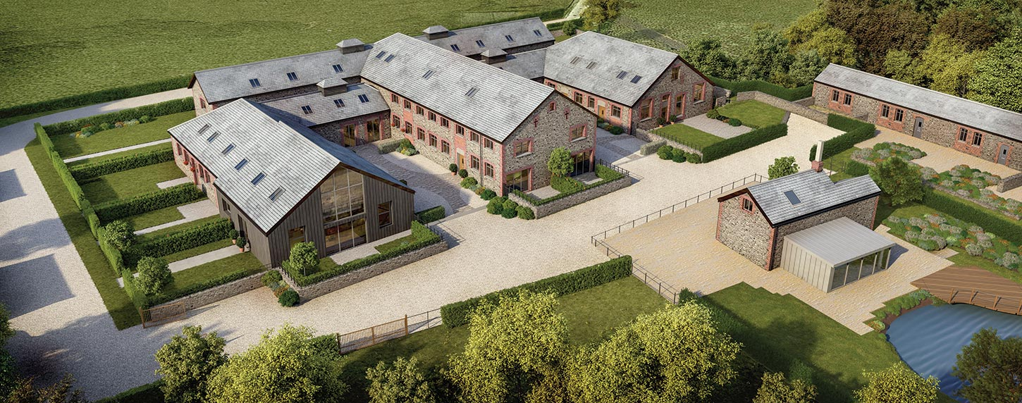 exterior Cgi New Homes