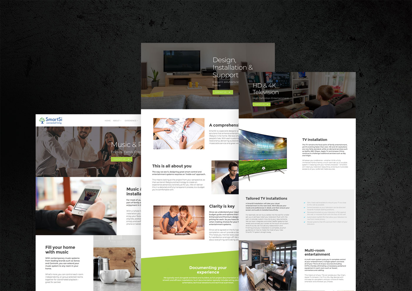 smarts web design project