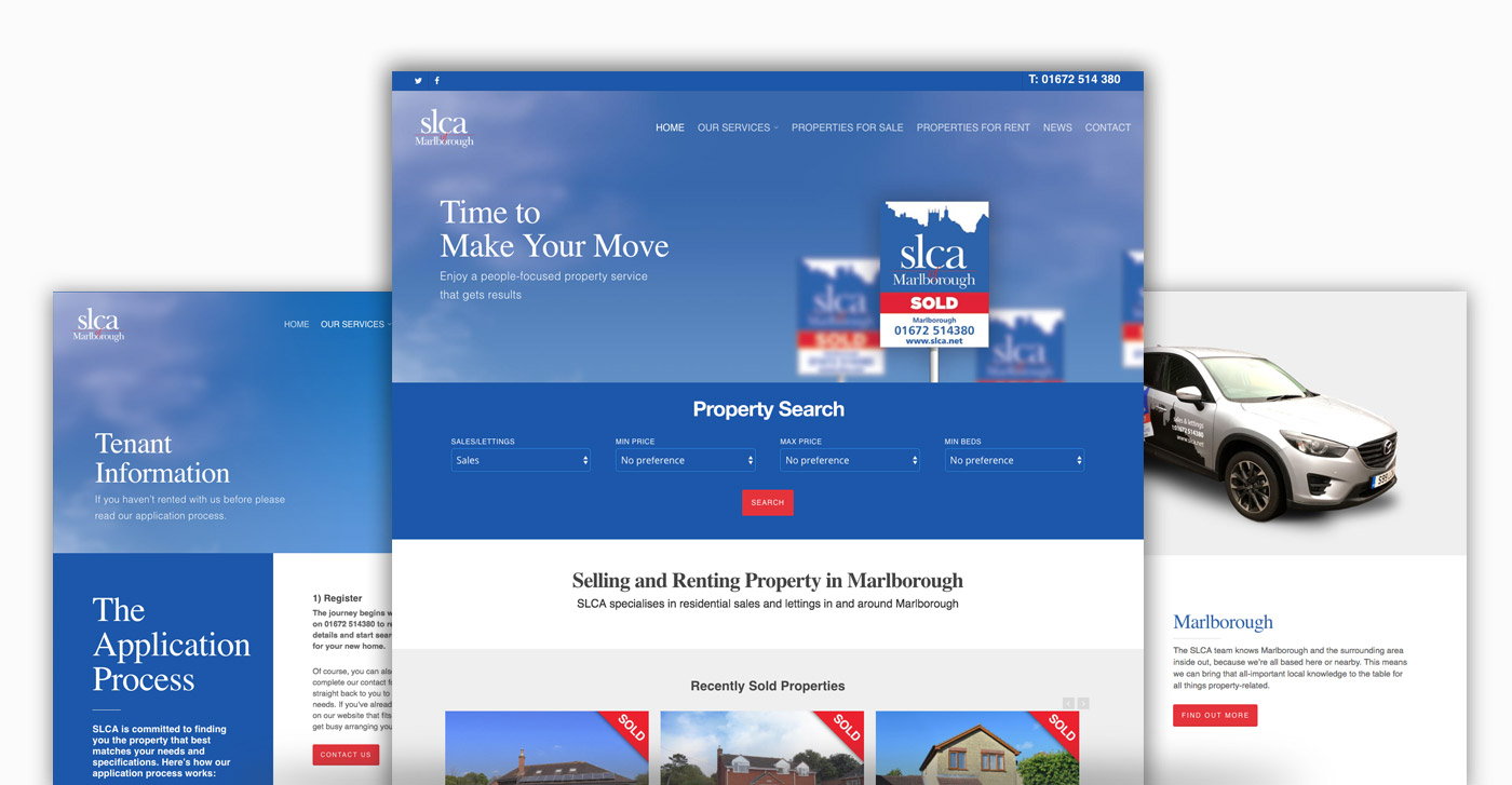UK Estate Agent Web Design