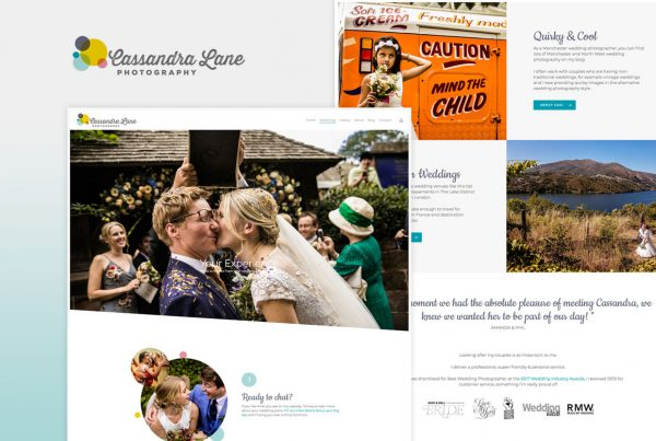 cassandra lane website redesign
